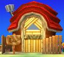 Simon's house exterior