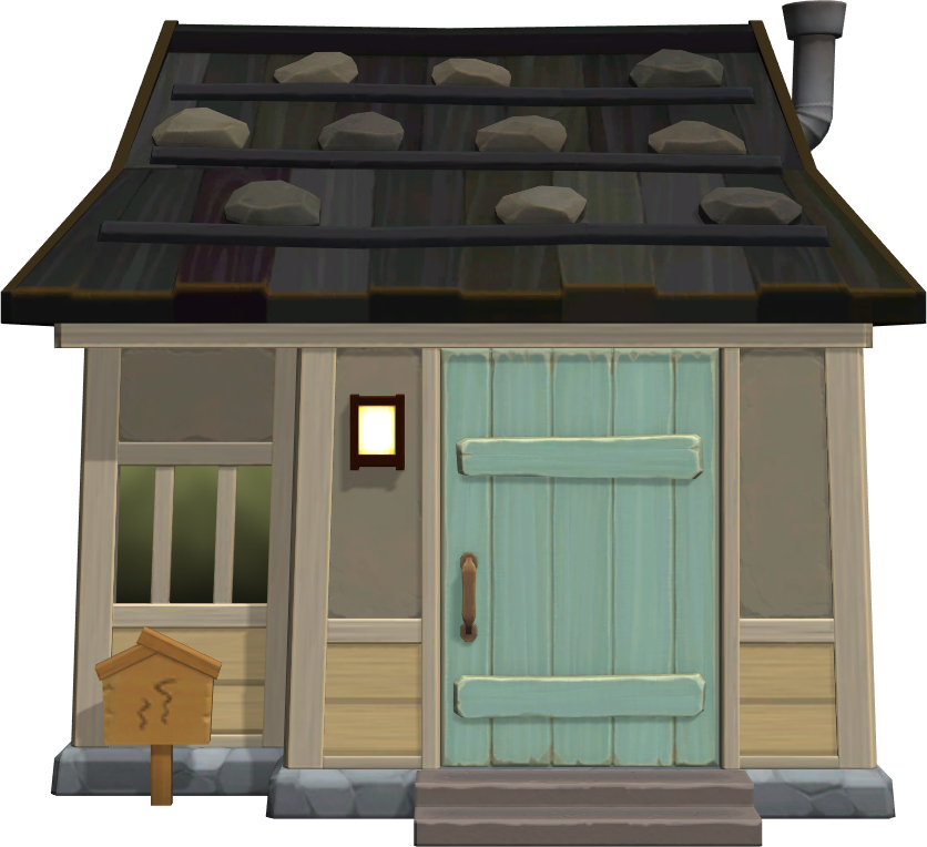 Exterior of Dora's house in Animal Crossing: New Horizons