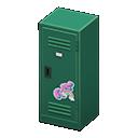 Upright Locker (Green - Cute) NH Icon.png
