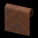 Chocolate Herringbone Wall