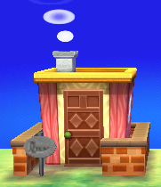 Exterior of Candi's house in Animal Crossing: New Leaf