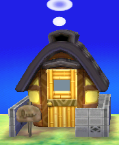Exterior of Billy's house in Animal Crossing: New Leaf