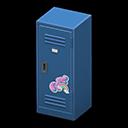 Upright Locker (Blue - Cute) NH Icon.png