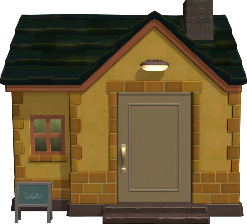 Exterior of Leonardo's house in Animal Crossing: New Horizons