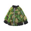 Camo Bomber-Style Jacket