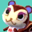 Pecan's picture in Animal Crossing: New Leaf