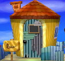 Exterior of Wart Jr.'s house in Animal Crossing: New Leaf