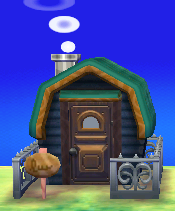 Exterior of W. Link's house in Animal Crossing: New Leaf
