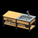 Ironwood Kitchenette (New Horizons) - Animal Crossing Wiki ... on Ironwood Kitchenette  id=55677