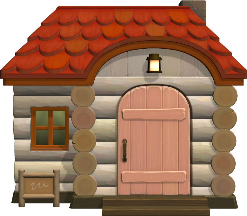 Exterior of Dom's house in Animal Crossing: New Horizons