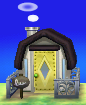 Exterior of Fang's house in Animal Crossing: New Leaf