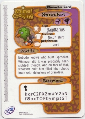 Animal Crossing-e 2-111 (Sprocket - Back).jpg