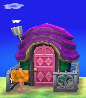 Pango's house exterior