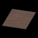 Simple Small Brown Mat