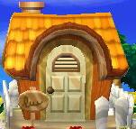 Pompom's house exterior
