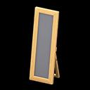 Wooden Full-Length Mirror