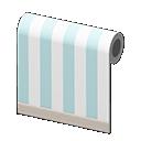 Blue-Striped Wall