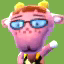 Velma's picture in Animal Crossing: New Leaf