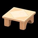 Wooden-Block Table