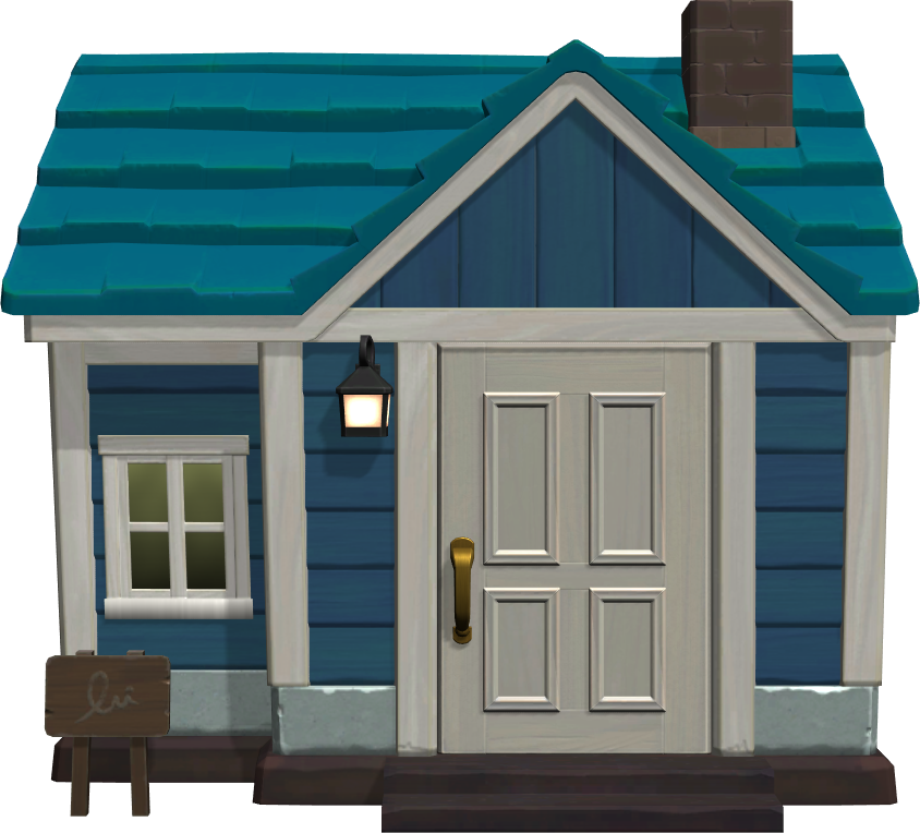 Exterior of Iggly's house in Animal Crossing: New Horizons