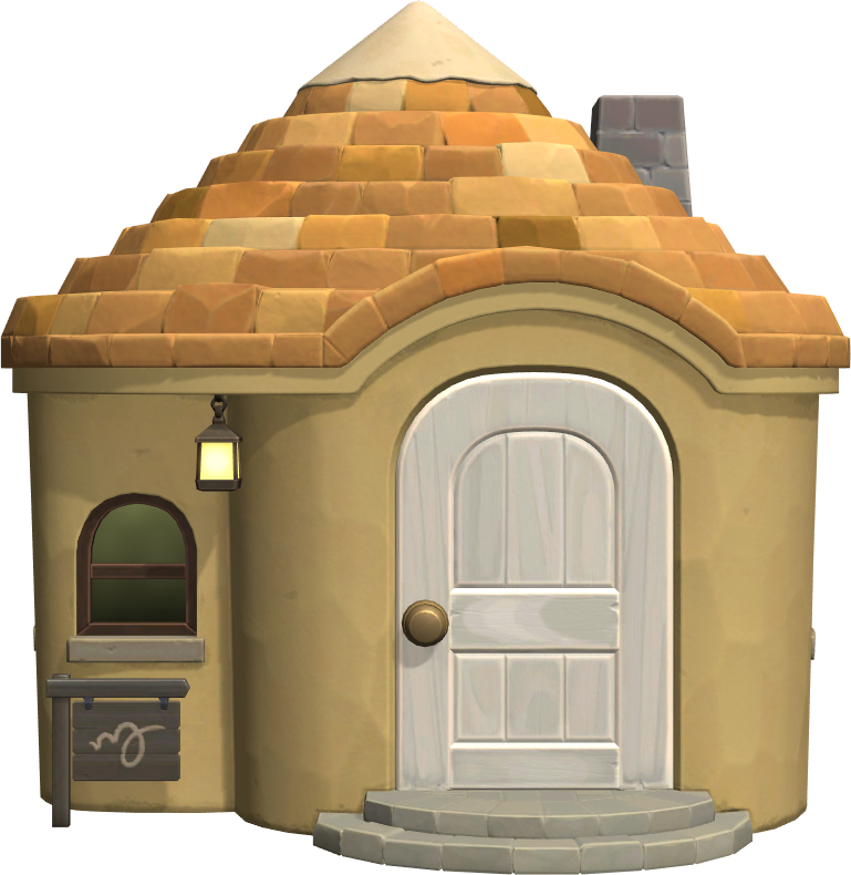 Exterior of Maddie's house in Animal Crossing: New Horizons