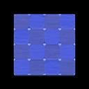 Cute Blue-Tile Flooring