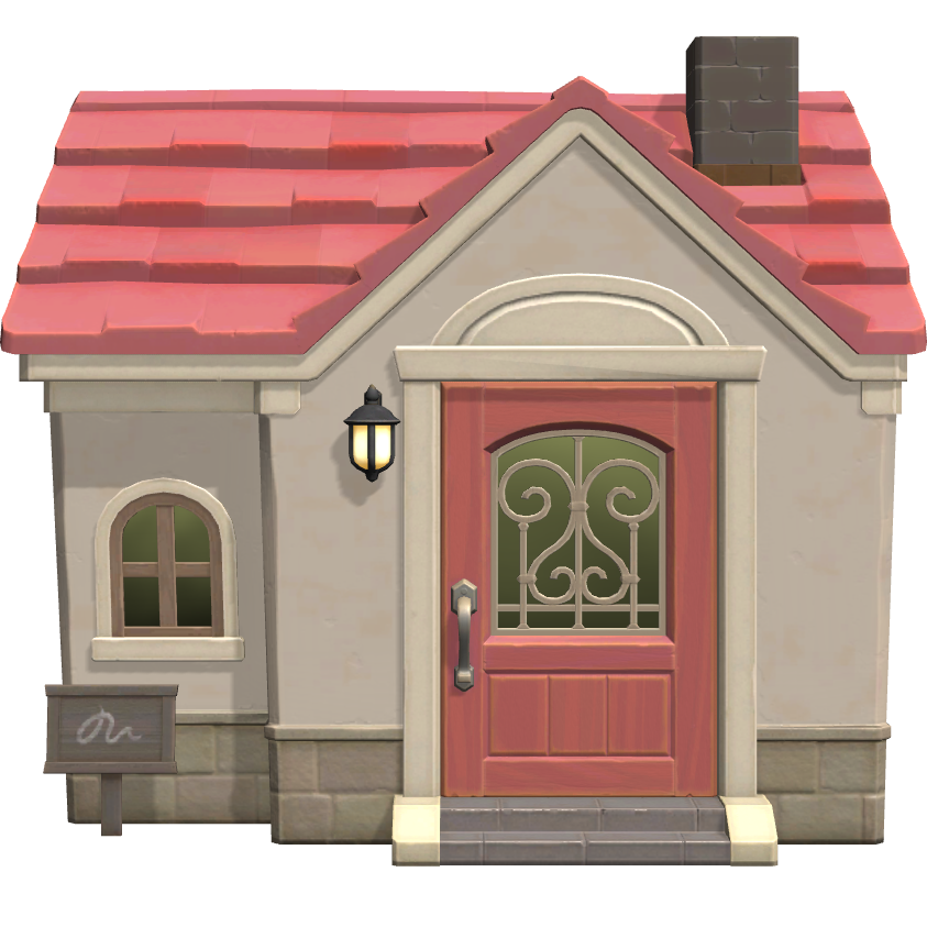 Exterior of Chelsea's house in Animal Crossing: New Horizons
