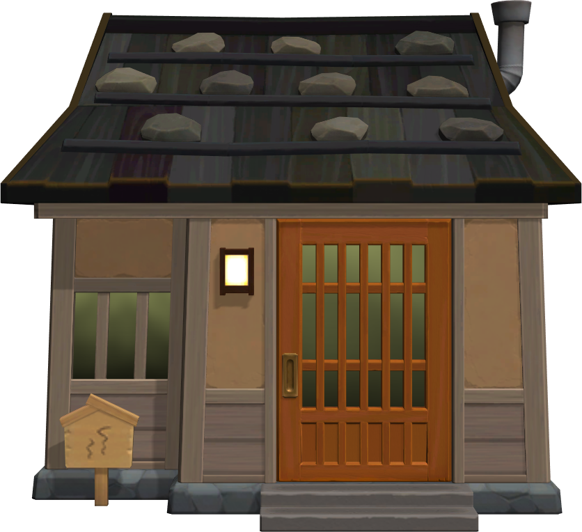 Exterior of Wart Jr.'s house in Animal Crossing: New Horizons