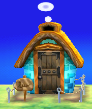 Exterior of Cyrano's house in Animal Crossing: New Leaf