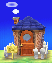 Exterior of Mitzi's house in Animal Crossing: New Leaf