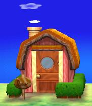 Ursala's house exterior