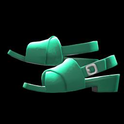 Cross-Belt Sandals