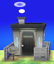 Exterior of Barold's house in Animal Crossing: New Leaf