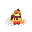 Pompompurin Pudding