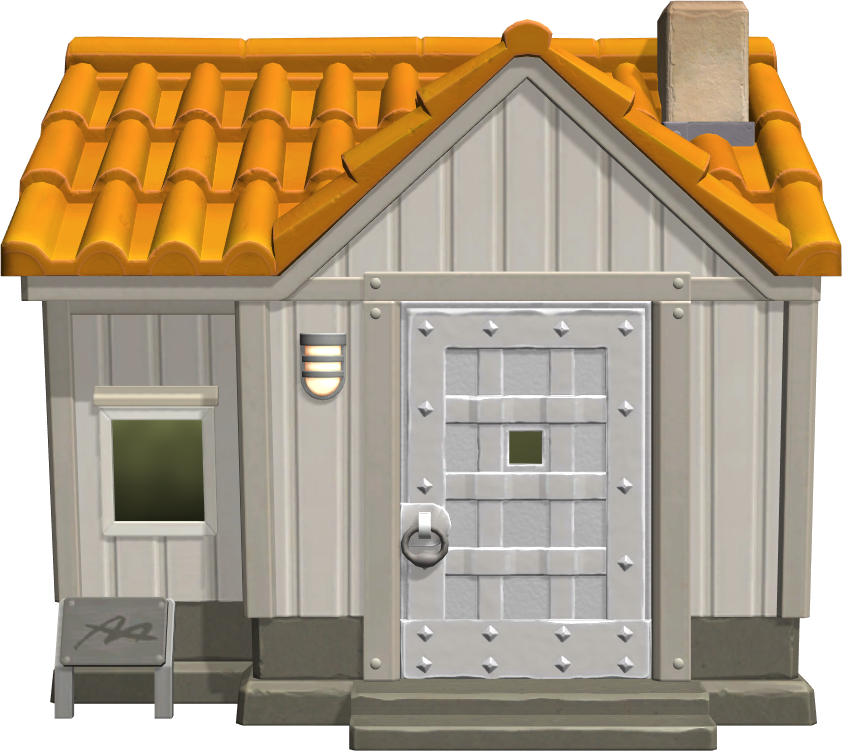Exterior of Chief's house in Animal Crossing: New Horizons