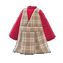 Checkered Jumper Dress