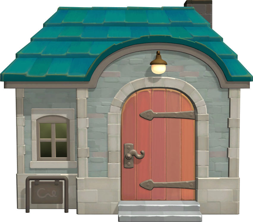 Exterior of Penelope's house in Animal Crossing: New Horizons