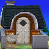 Exterior of Peewee's house in Animal Crossing: New Leaf