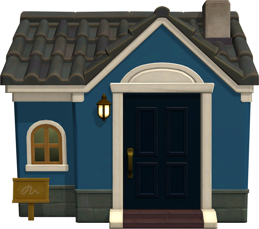 Exterior of Wolfgang's house in Animal Crossing: New Horizons