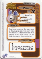 Animal Crossing-e 1-058 (Dora - Back).jpg