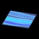 Blue Wavy Rug
