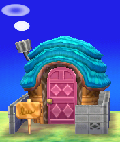 Exterior of Paolo's house in Animal Crossing: New Leaf