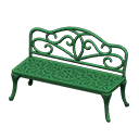Iron Garden Bench (Green) NH Icon.png