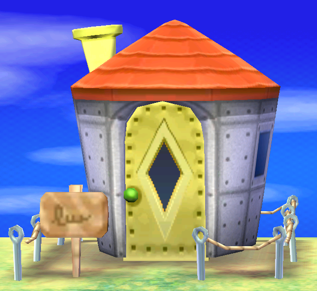 Exterior of Samson's house in Animal Crossing: New Leaf