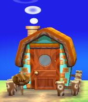 Bettina's house exterior