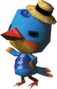 Flash, an Animal Crossing villager.