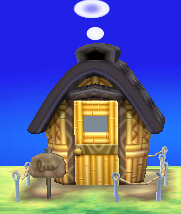 Exterior of Coco's house in Animal Crossing: New Leaf