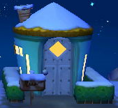 Exterior of Scoot's house in Animal Crossing: New Leaf
