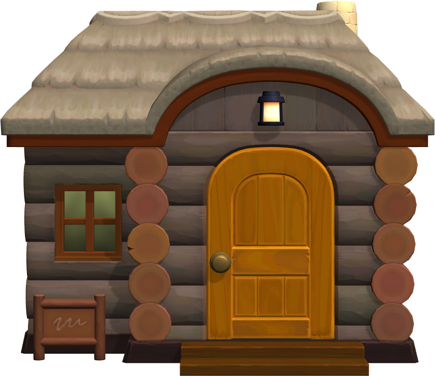 Exterior of Gonzo's house in Animal Crossing: New Horizons