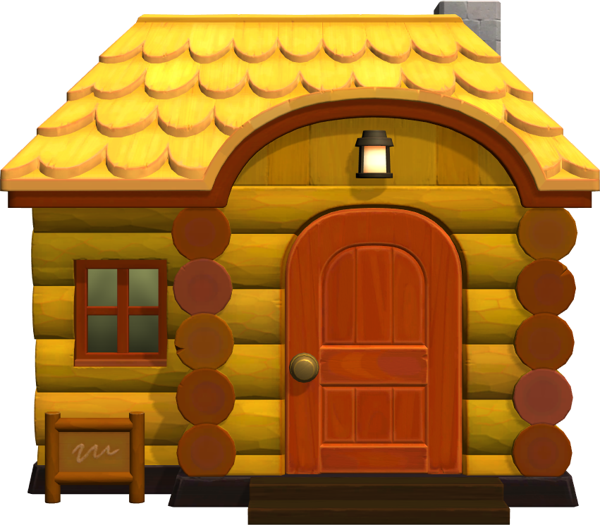 Exterior of Graham's house in Animal Crossing: New Horizons